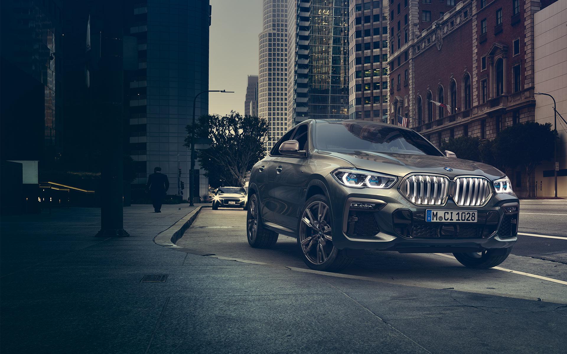 The  BMW X6